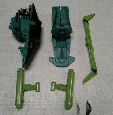 GI Joe Vehicle Dreadnok Swampfire Pontoon RIGHT 1986 Original Part