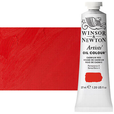 Winsor & Newton Artists' Oil Color 37 ml Tube - Cadmium Red