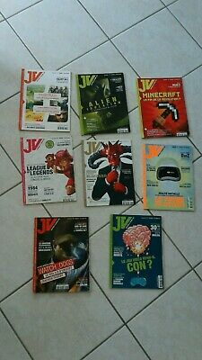 collector 2014 Collection 9 magazines JV le mag:dreamcast,playstation,nintendo..