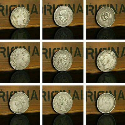 Euro Historical Numbers Silver Commemorative Coin Silver Dollar PAL TOP Hot G1E4