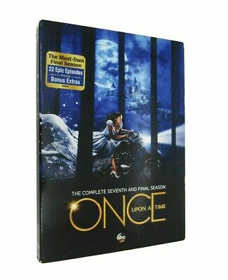Once Upon a Time:7 The Complete Seventh Season 7 (DVD 5-Disc set) Free Shipping