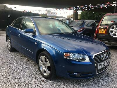 Audi A4 2.0 tdi se saloon 5 doors manual blue diesel