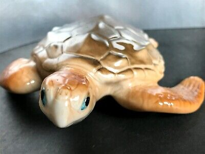 Sea turtle porcelain figurine high quality from Russia