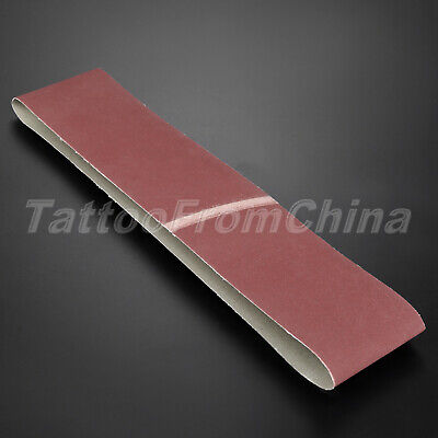 1pc 320# Grit Sanding Paper Abrasive Belt Sharpening Grinding Tool 915mm*100mm