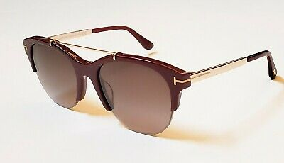 Ford Tom 69t Tf517 Adrenne Burgundygold Sunglasses Oval Ft0517 55mm H2WDEI9