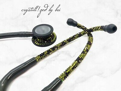 Camo CRYSTALLIZED MDF Bling Stethoscope Crystals Camouflage w/Swarovski Crystals