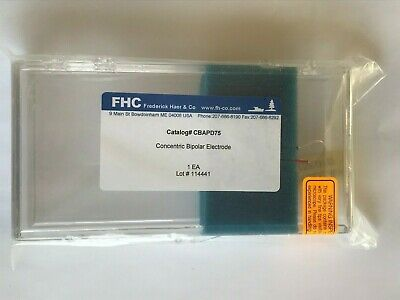 NEW SEALED FHC Frederick Haer & Co Concentric Bipolar Electrode CBAPD75