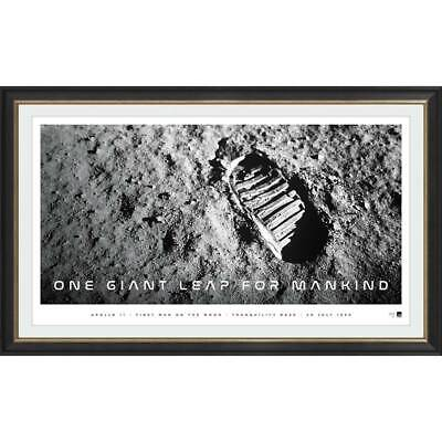 One Giant Leap for Mankind 50th Anniversary L/E ICON Series Print Framed