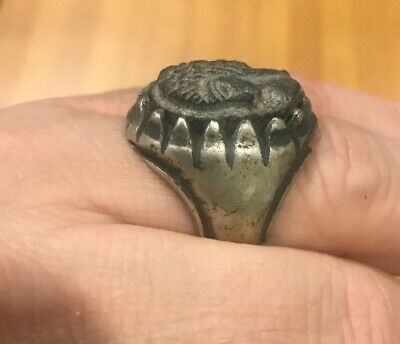 ANTIQUE GENUINE EGYPTIAN RING.1100 BC To 300 BC. NEW KINGDOM. ANCIENT EGYPT.