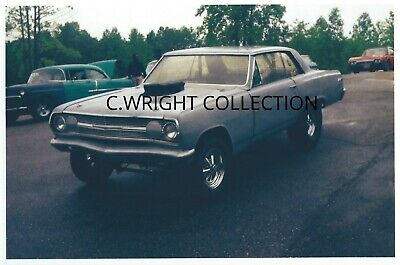 VINTAGE DRAG RACING-1965 Chevy Chevelle-GASSER-AQUASCO SPEEDWAY-Maryland