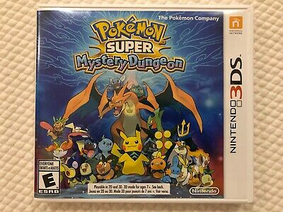 Pokemon Super Mystery Dungeon ( Nintendo 3DS ), Complete