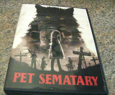 Pet Sematary (DVD 2019) BRAND NEW & IN STOCK NOW~ INCLUDES 1ST CLASS SHIPPING~