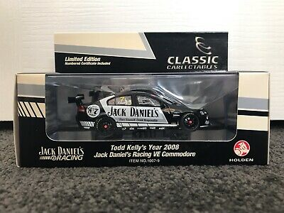 Classic Carlectables 1/43 Holden VE Commodore #7 Jack Daniels 2008 Todd Kelly