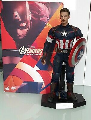 Hot Toys 1/6 Scale figure CAPTAIN AMERICA Age of Ultron Magnetic Shield