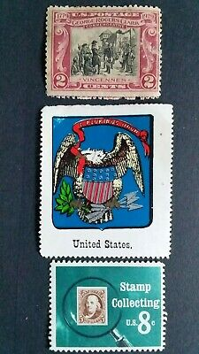 U. S. A Great Mint Stamps as Per Photo. Very Low Start