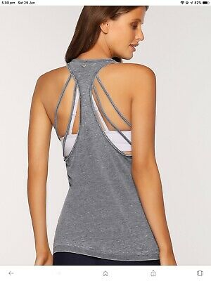 Lorna Jane Move With Ease Tank Sz XS