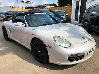 2006 Porsche Boxster 2.7 - 3 MONTHS WARRANTY - 239BHP - SAT NAV - LEATHER SEATS