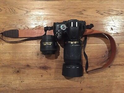 Nikon D5100 Camera, AFS 35mm 1:1.8G & 55-200 Lenses