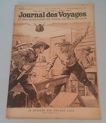 Journal of Voyages No No 4 Jeudi 21 Mars 1946