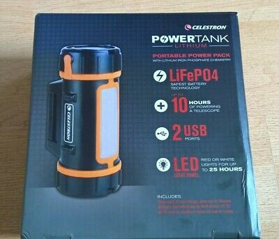 Celestron Lithium PowerTank with Dual USB Ports