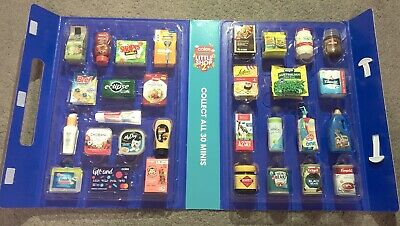 Full Set Coles Little Shop 2 Mini Collectables With Case & Free Postage