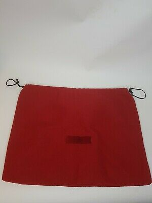 Red Soft Velvety Shoe Dust Bag Valentino