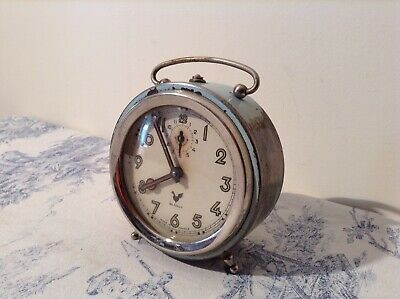 Vintage French Blangy Retro Alarm Clock