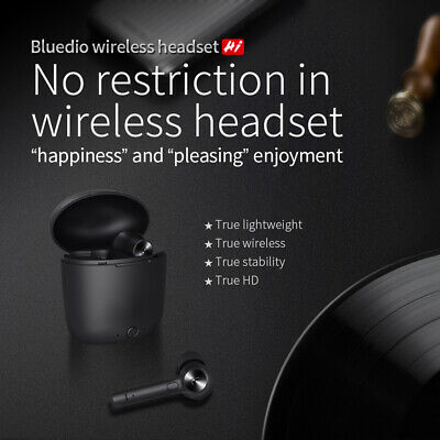Bluedio Hi wireless bluetooth earphone for phone stereo sport earbuds headset ag