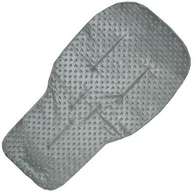 Grey Dimple Fleece Seat Liners for Bugaboo Pushchairs