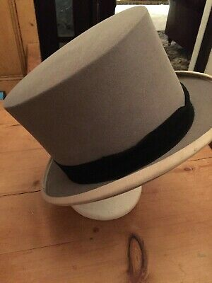 Vintage Stunning Top Hat Woodrow Of London Hatters To The Late King George Vi