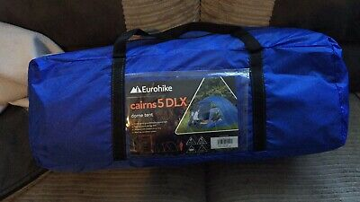 Eurohike Cairns 5 Man DLX Deluxe Festival Dome Tent