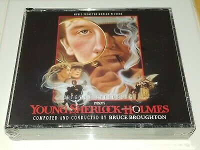 YOUNG SHERLOCK HOLMES (1985) Bruce Broughton 3-CDs NEW/SEALED Expanded INTRADA