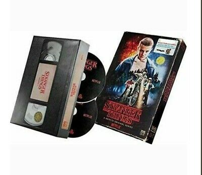 Stranger Things - Season 1 Collector's Edition Blu-ray & DVD w/POSTER