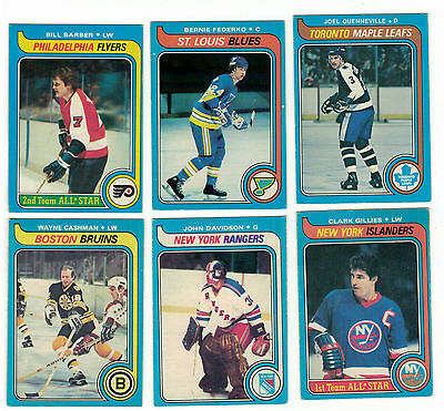 1979-80 OPC NHL Hockey Lot - Pick only the cards you need - $1 each