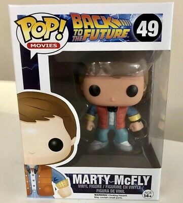 Funko POP! Movies Back to the Future MARTY McFLY #49 Vinyl Figure 2014