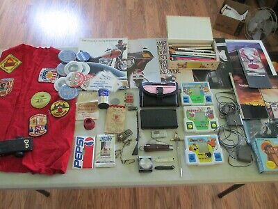 Junk Drawer Knives Nintendo DS Harley Cub Scouts Advertisement Tags Much More