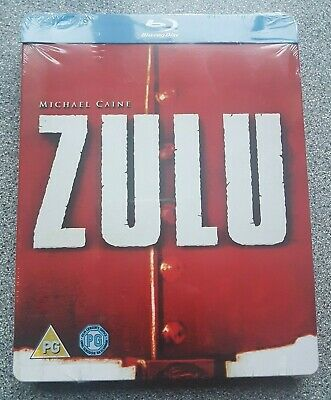 Zulu (Michael Caine) Limited Edition UK Bluray Steelbook. OOP New & Sealed