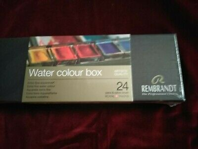 Rembrandt water colour box Brand New. RRP 90.00