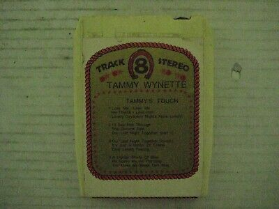 """Vintage Tammy Wynette """"Tammy's Touch"""" 8 Track Tape-Good Condition!"""