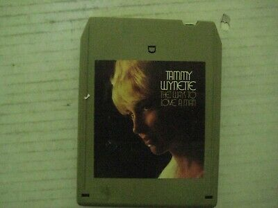 """Vintage Tammy Wynette """"The Ways To Love A Man"""" 8 Track Tape-Good Condition!"""