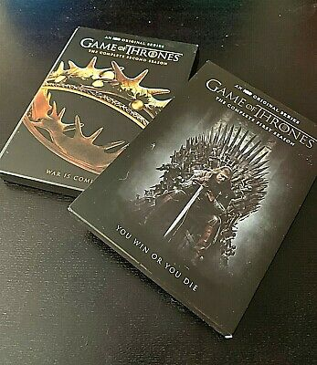 Game Of Thrones: Seasons 1 and 2  DVD 10-Disc Set