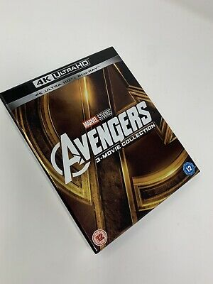 Avengers: 3-movie Collection (4K with Blu-ray) [UHD]