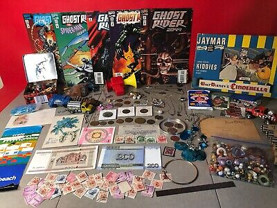 Junk Drawer Coins, Jewelry and Collectibles Estate Lot