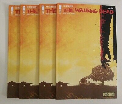 THE WALKING DEAD 193 1st PRINT THE FARMHOUSE ROBERT KIRKMAN UNREAD 4 COPIES
