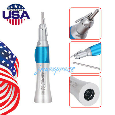 USA Dental Surgical Straight Nose Cone Handpiece 1:1 External Irrigation Pipe