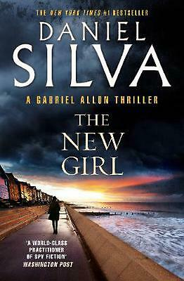 The New Girl by Daniel Silva Paperback Book Free Shipping!