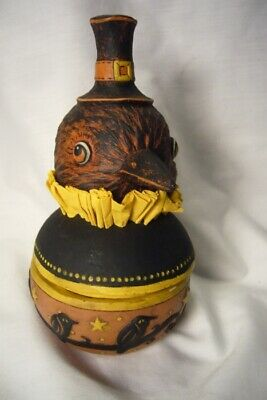 Bethany Lowe Harvest Crow Candy Bowl, no. JP7946