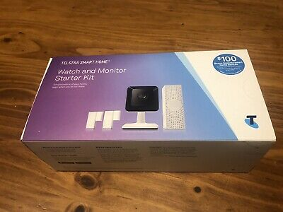 TELSTRA SMART HOME WATCH AND MONITOR STARTER KIT (Brand New)