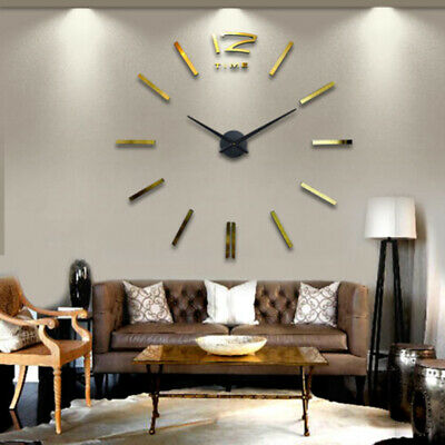 Mechanism Wall Clock Movement with Hands Repair Parts Large DIY Brand New Hot