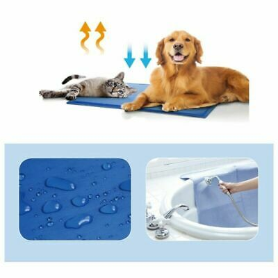 Dog Cooling Mat New Summer Ice Cool Pad Comfortable Bed For Pet Puppy S M L XL